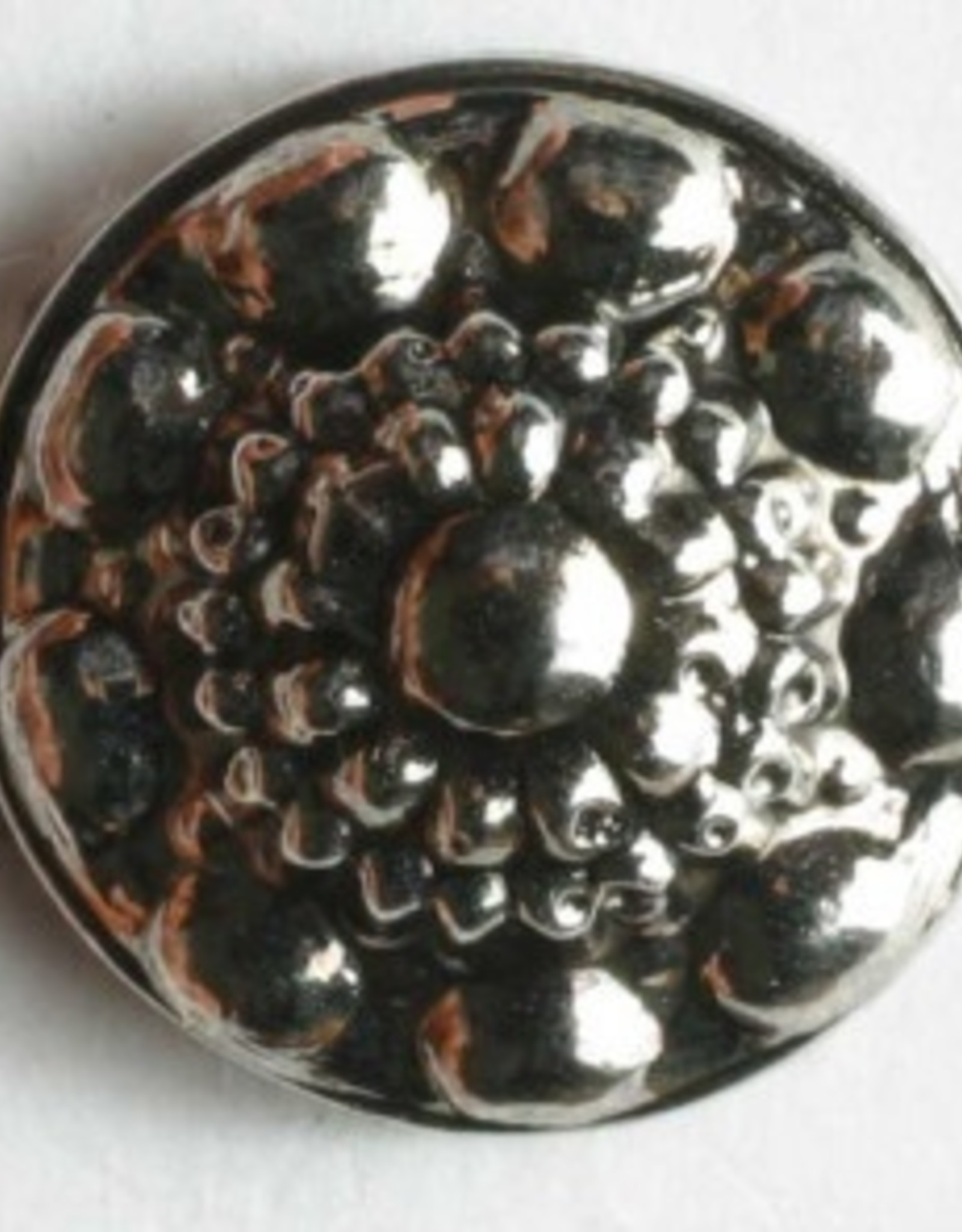 Dill Antique Silver Button, 11 mm
