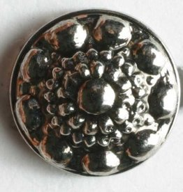 Dill Antique Silver Button, 11 mm