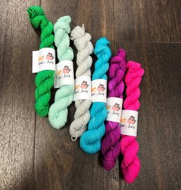 Yoshi and Lucy Mini Skeins