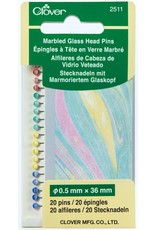 Clover Clover Glass Head Pins