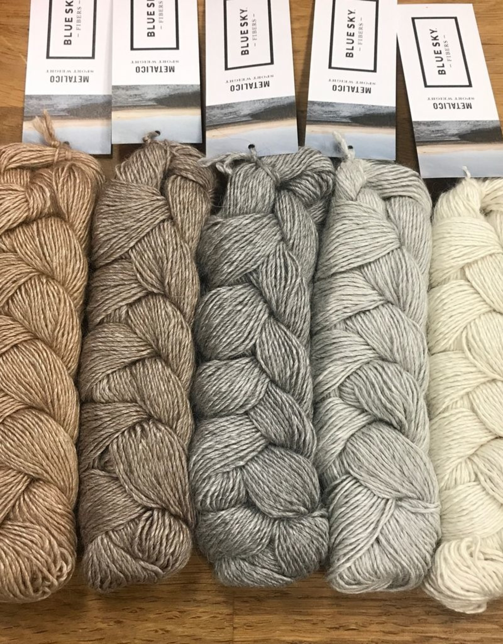 Blue Sky Fibers Metalico by Blue Sky Fibers