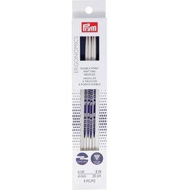 """Prym Pyrm Ergonomic Double pointed Knitting needles 8"""""""