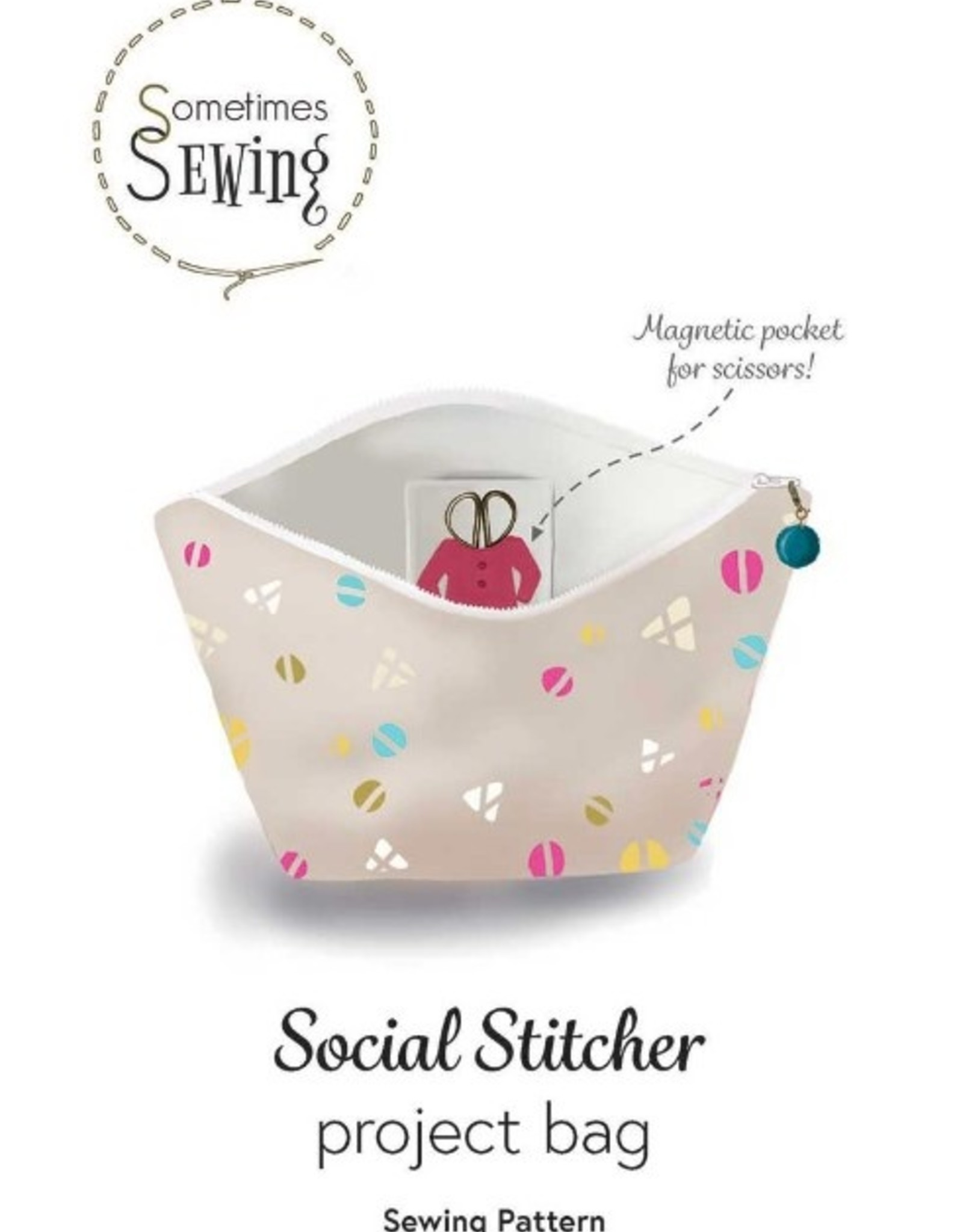 Social Stitcher Project Bag — Sewing Pattern