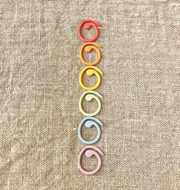 Cocoknits Split ring Stitch Markers by Coco Knits