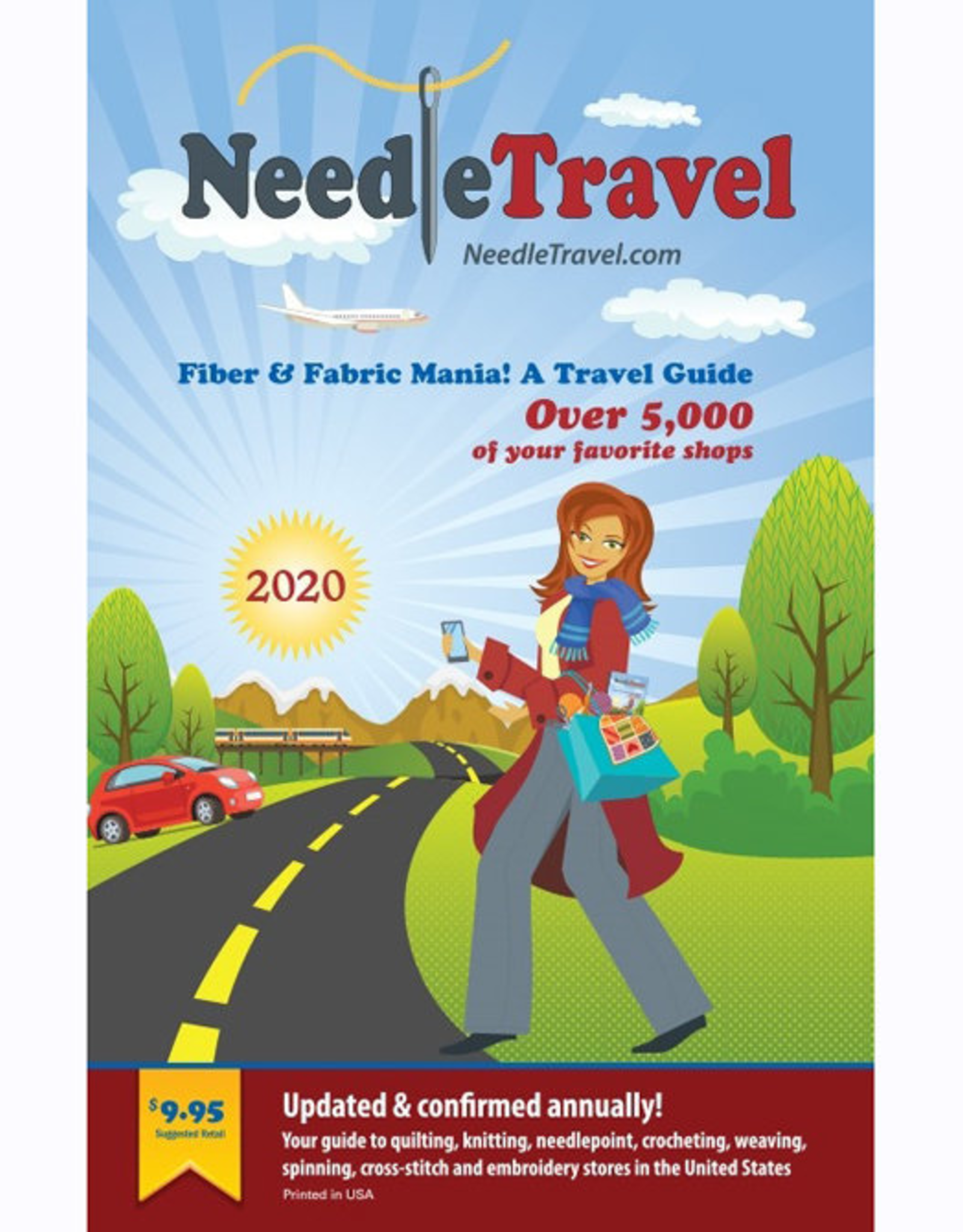 Fiber & Fabric Mania! a Travel Guide 2020