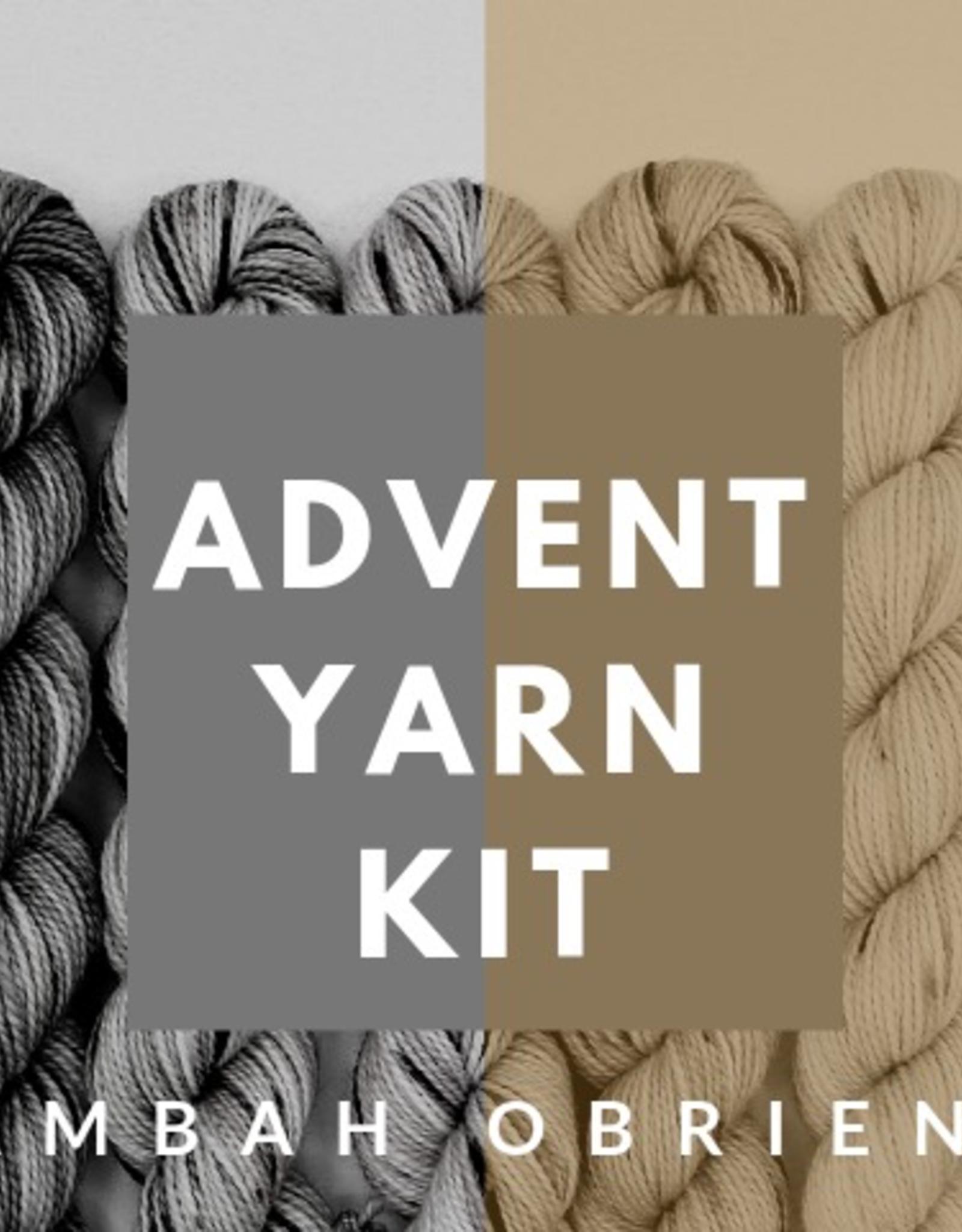 Baah Yarns Baah / Ambah O'Brien 2020 Advent Kit