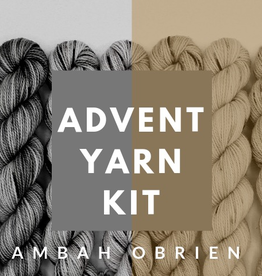 Baah Yarns Baah / Ambah O'Brien 2020 Advent Kit