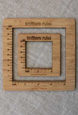 NNK press Gauge Swatch Measure