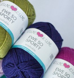 Ewe Ewe Ewe So Sporty by Ewe Ewe Yarns Color Group 2