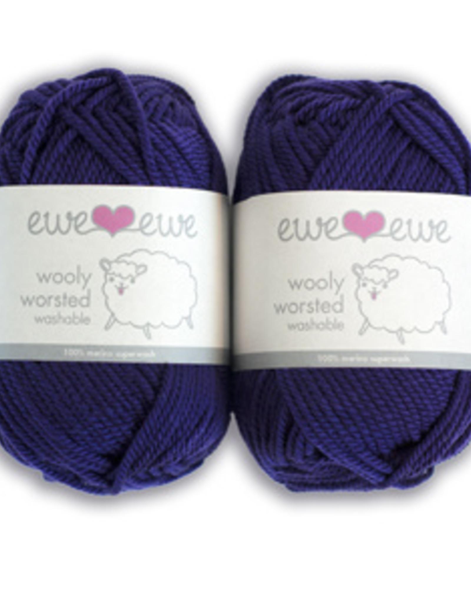 Ewe Ewe Wooly Worsted by Ewe Ewe Yarns Set 2