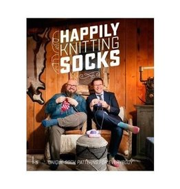 Happily Knitting Socks: Unique Sock Patterns for Everybody by Mr. Knitbear & DenDennis