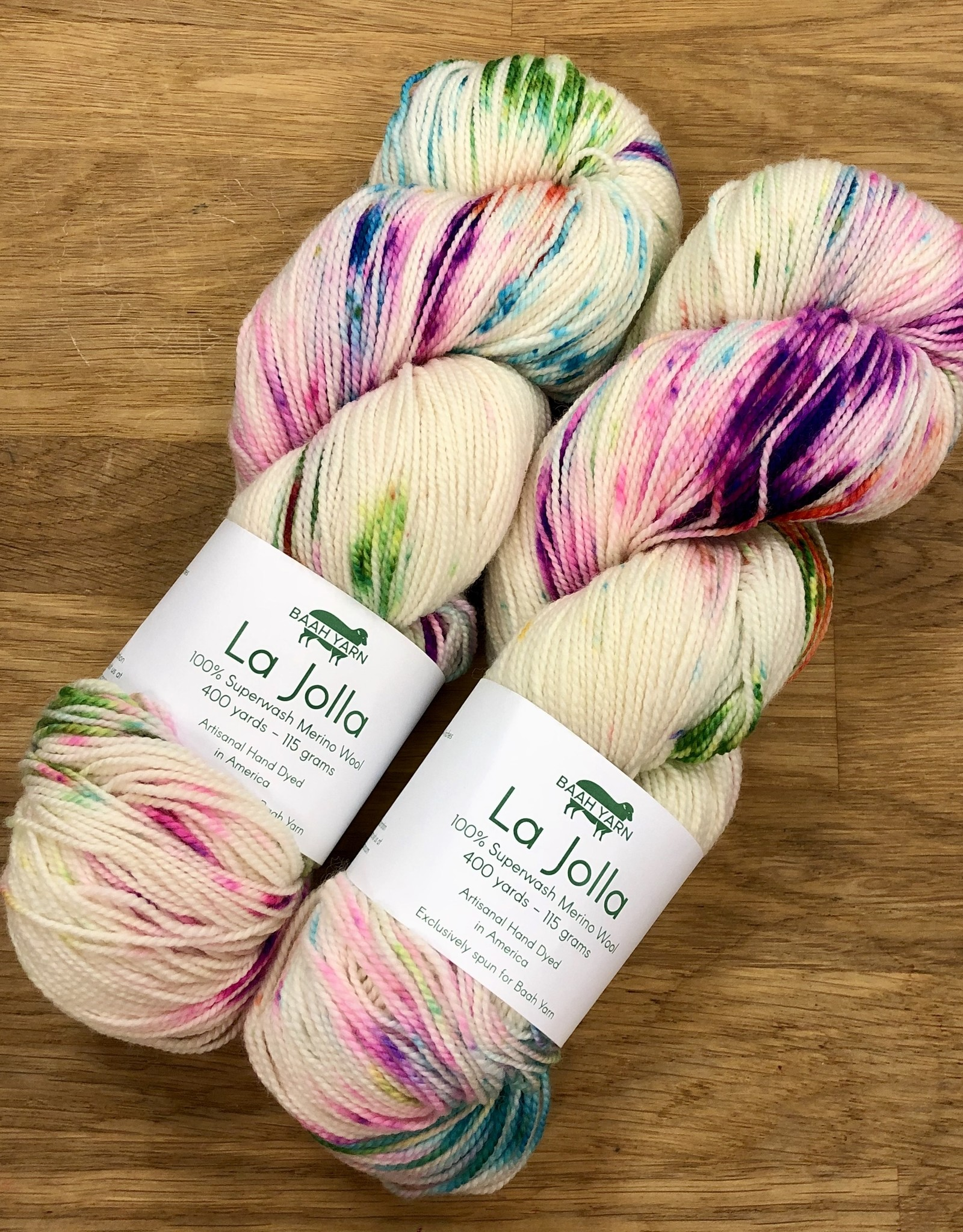 Baah Yarns La Jolla by Baah Yarn Set 2