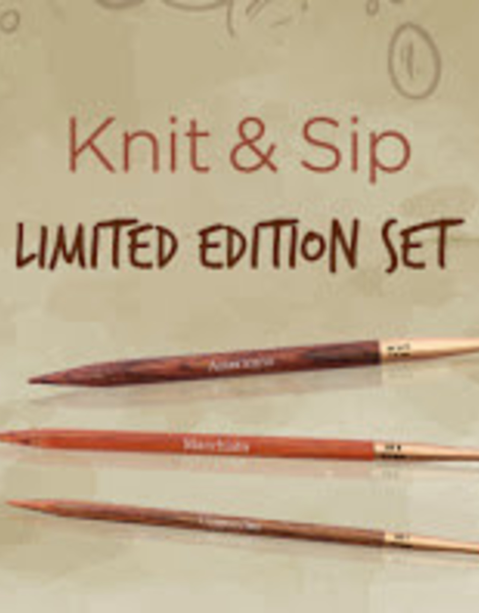 Knit & Sip IC Set from Knitter's Pride