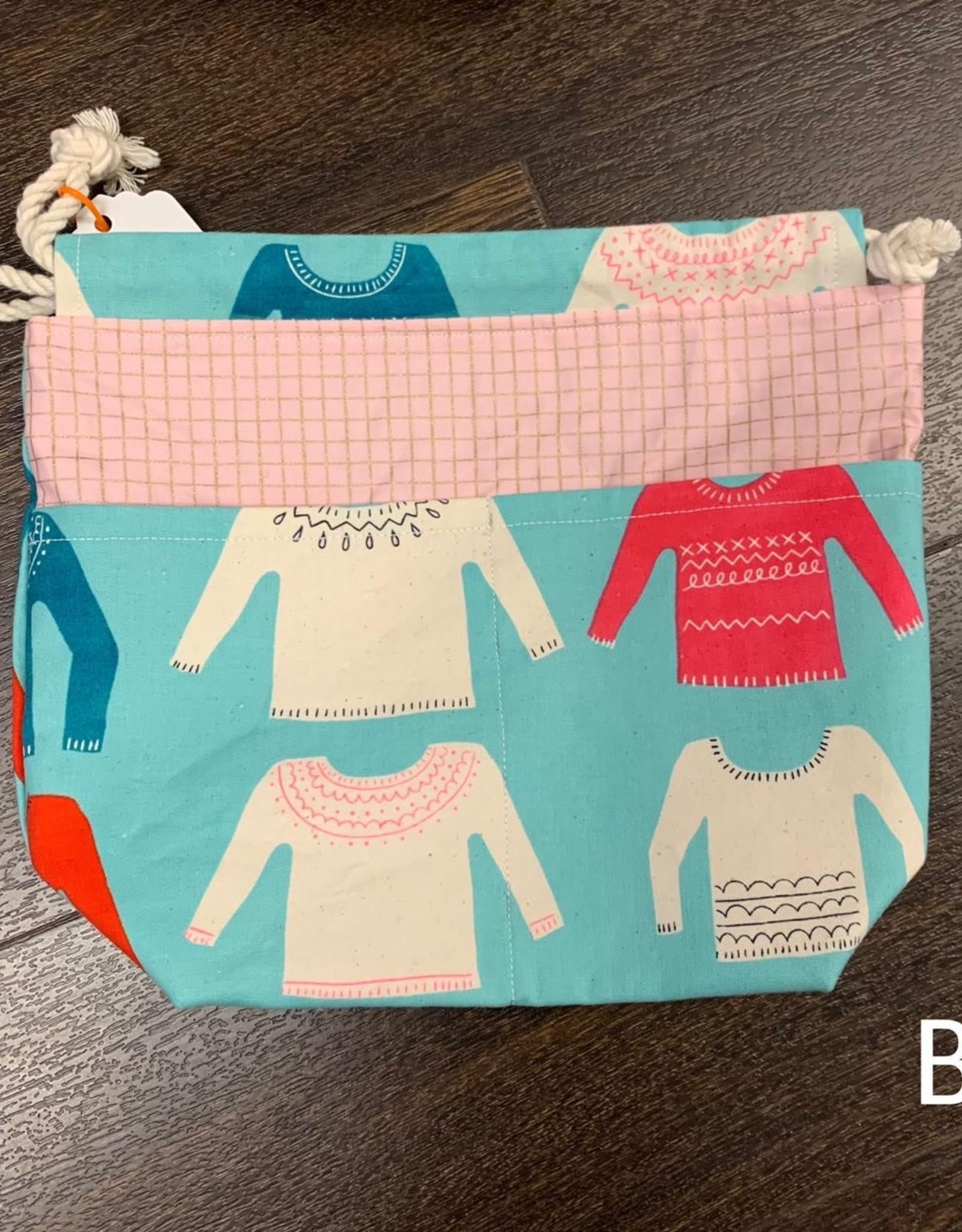 Handmade Drawstring Project Bags