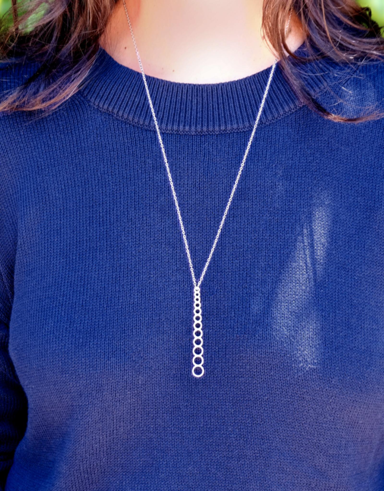 I LOVE HANDLES Needle Gauge Necklace