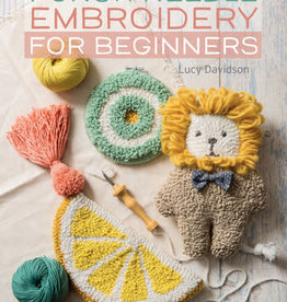 Search Press Punch Needle Embroidery for Beginners by Lucy Davidson