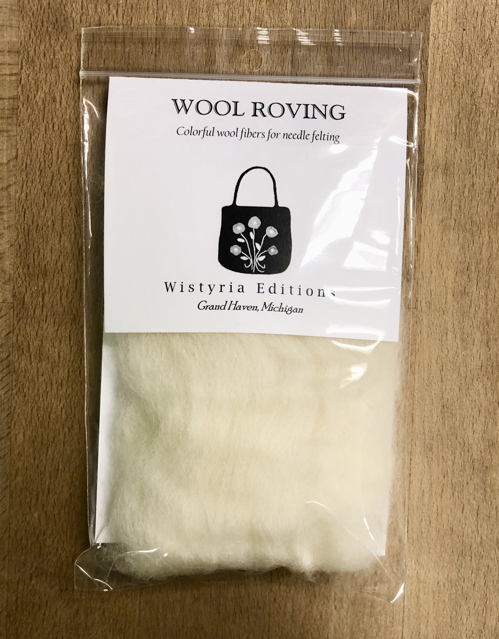 "Wistyria Editions Wistyria Editions Wool Roving 12"" .22oz"