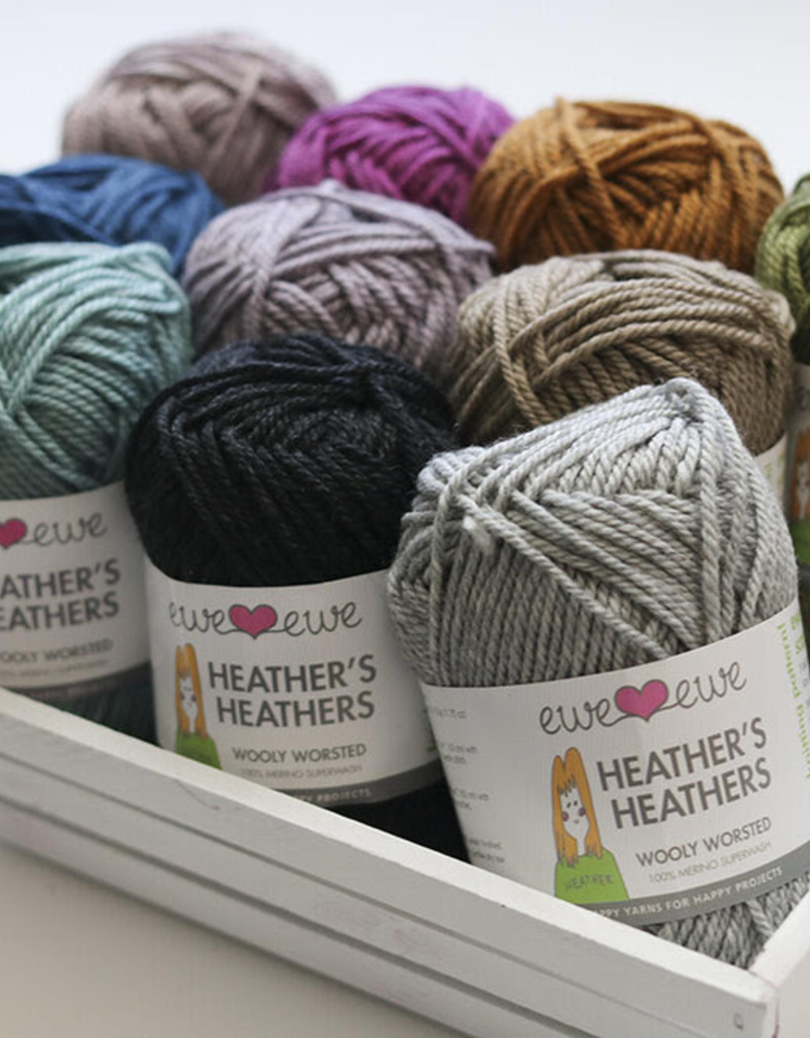 Ewe Ewe Wooly Worsted -- Heather's Heathers