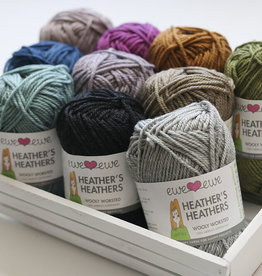 Ewe Ewe Wooly Worsted -- Heather's Heathers