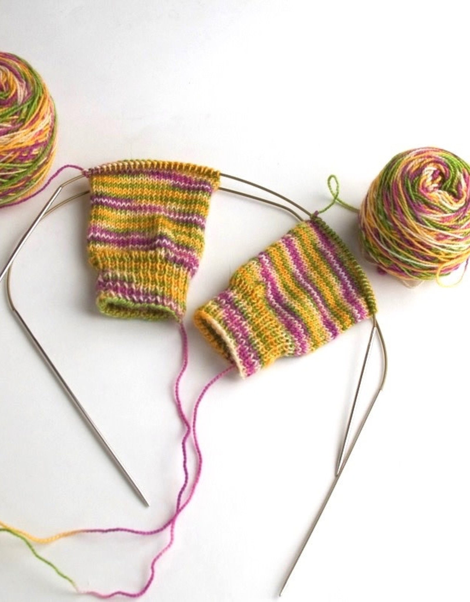 Esther Hall Socks Two-at-a-Time, June 5 & 12th
