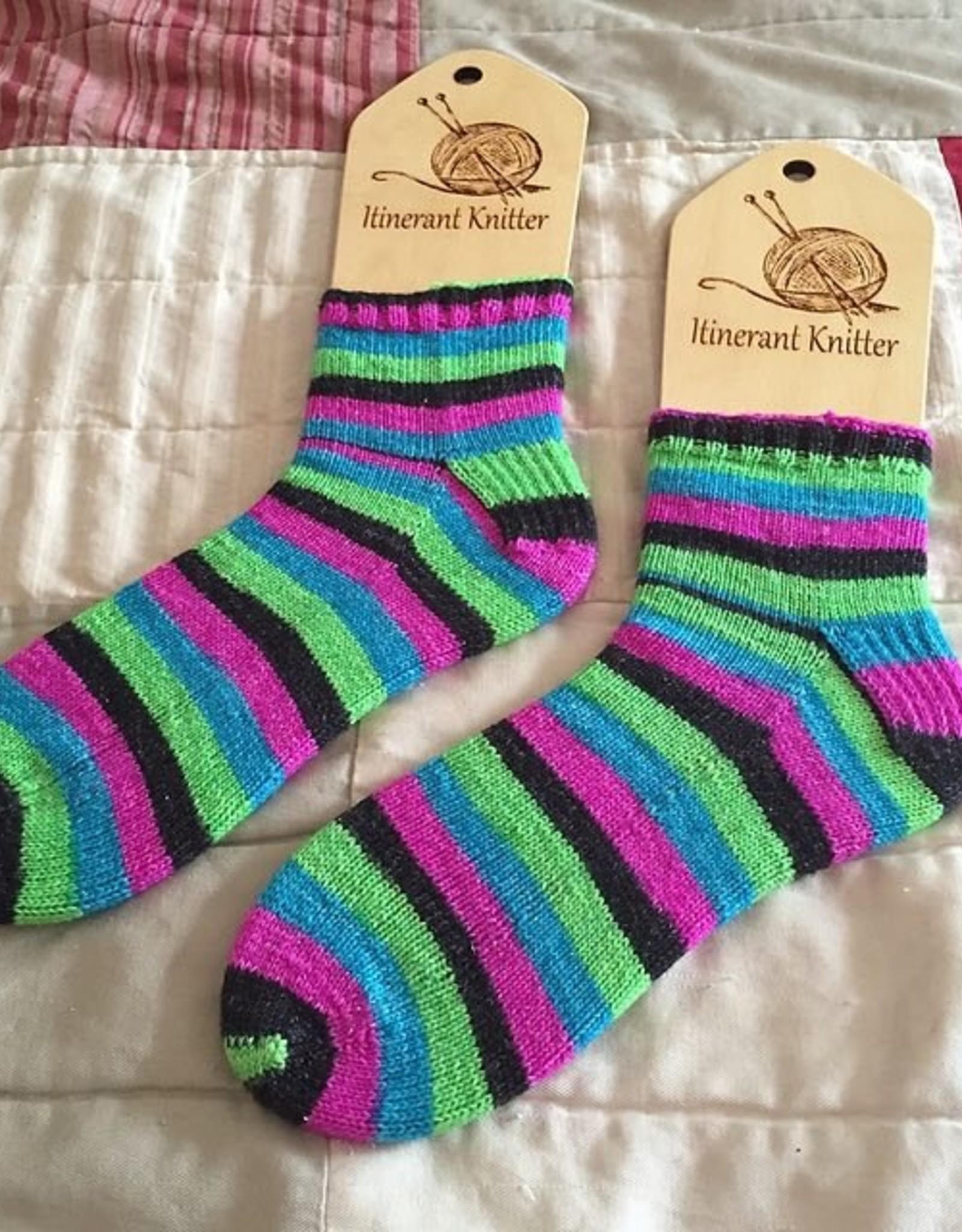 Cuff-Down Beginning Sock -- Sundays, July 3, 10, & 17th, 10am–12pm