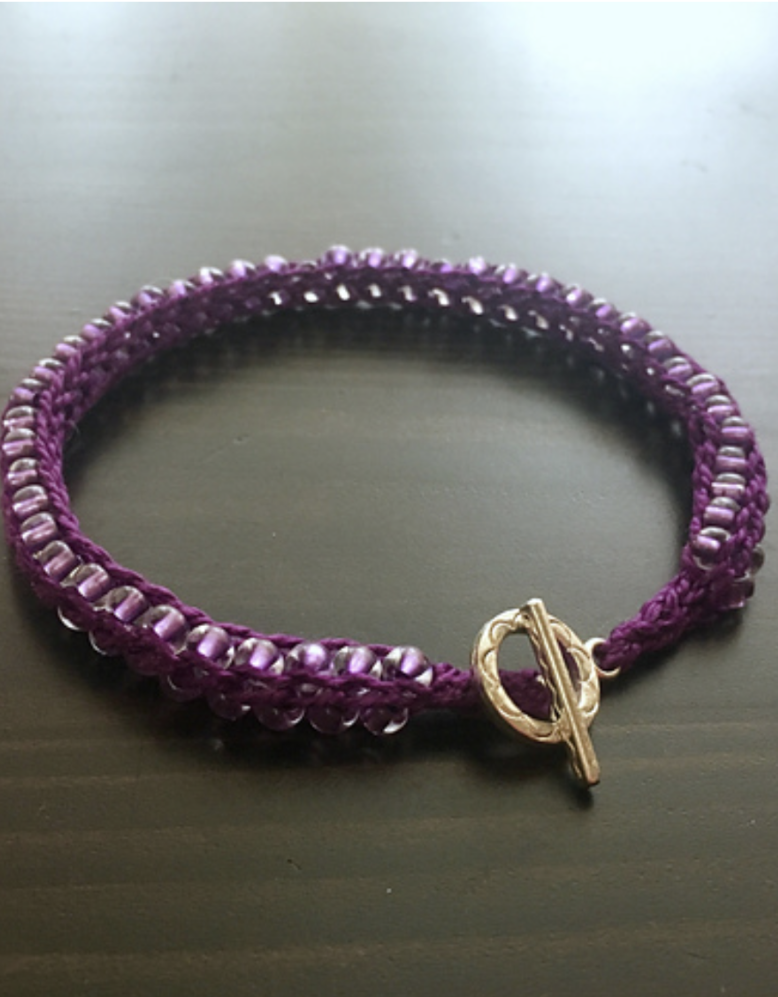 Knitting with Beads: Knit a beaded bracelet - Thursday, June 17th, 5-6:30pm