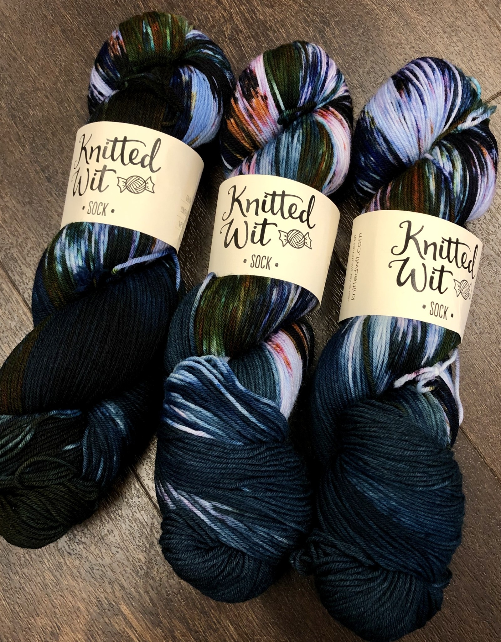 Knitted Wit Victory Sock by Knitted Wit