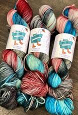 Dye Mad Yarns Minnie DK from Dye Mad Yarns