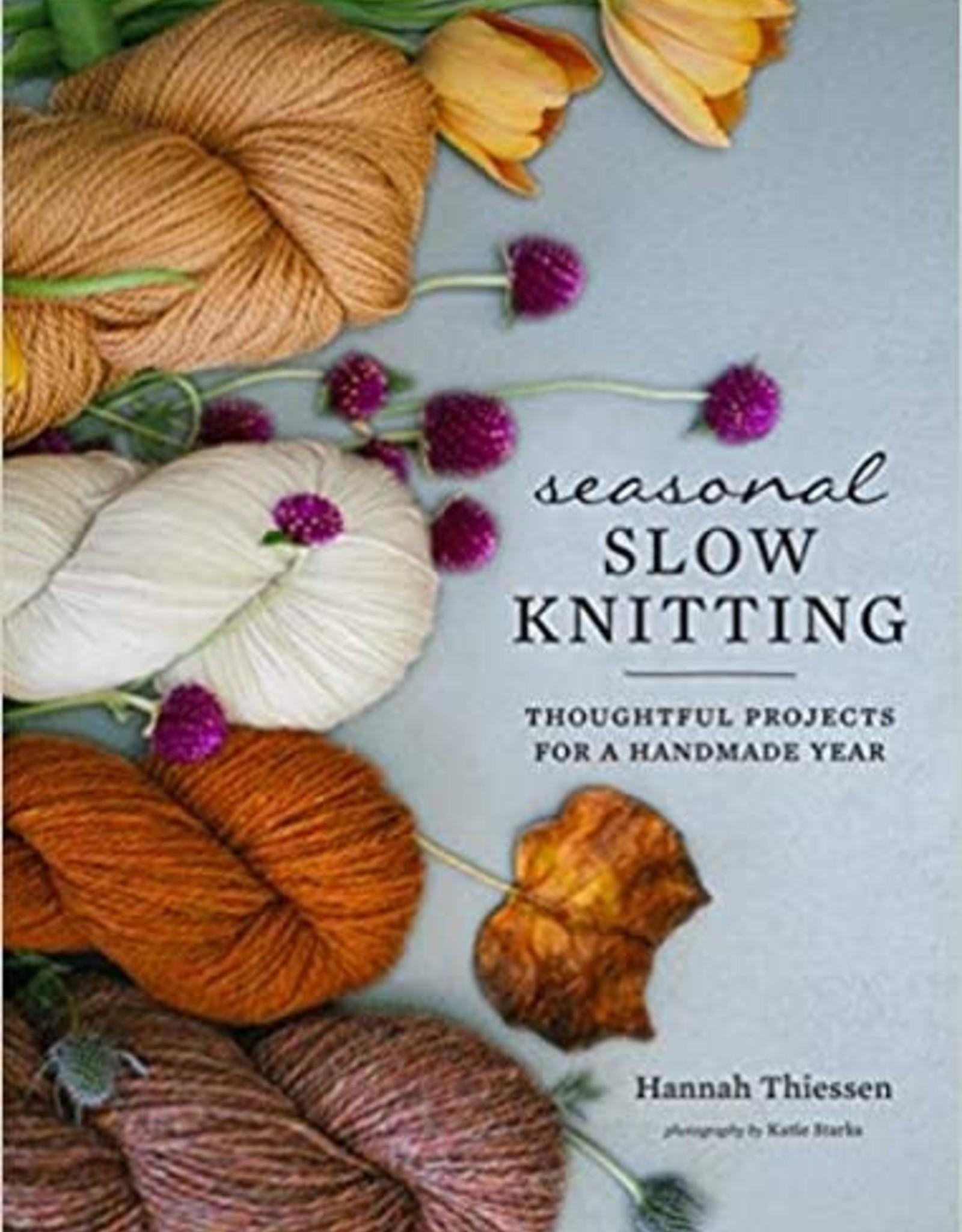 Seasonal Slow Knitting by Hannah Thiessen