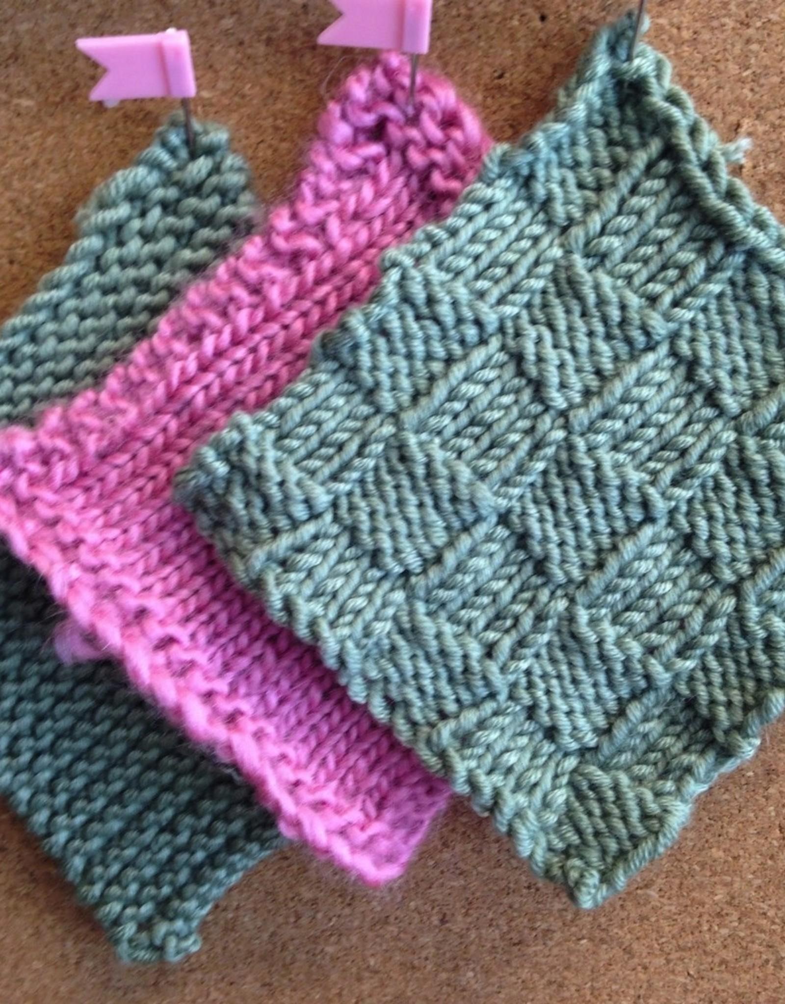 Heather Brown Knitting 101 (Beginning) - Saturdays, September 11 & 18th, 10am-12pm