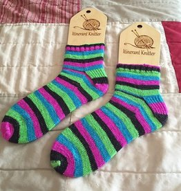 Heather Brown Cuff Down Beginning Sock - Saturdays, October 9, 16, & 23rd, 1:30-3:30pm