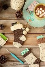 Crochet Gift Card Stocking - Saturday, December 4th, 12-2pm