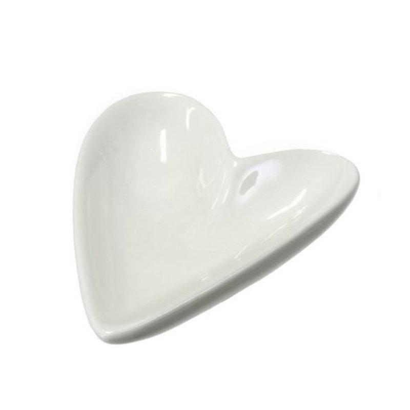 Indaba Porcelain Heart Dish