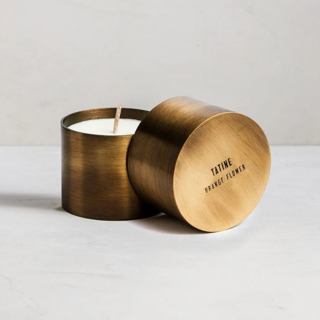 Natural Brass Candle Cup