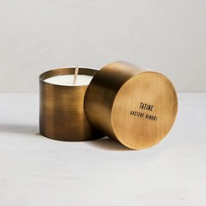 Tatine Natural Brass Candle Cup