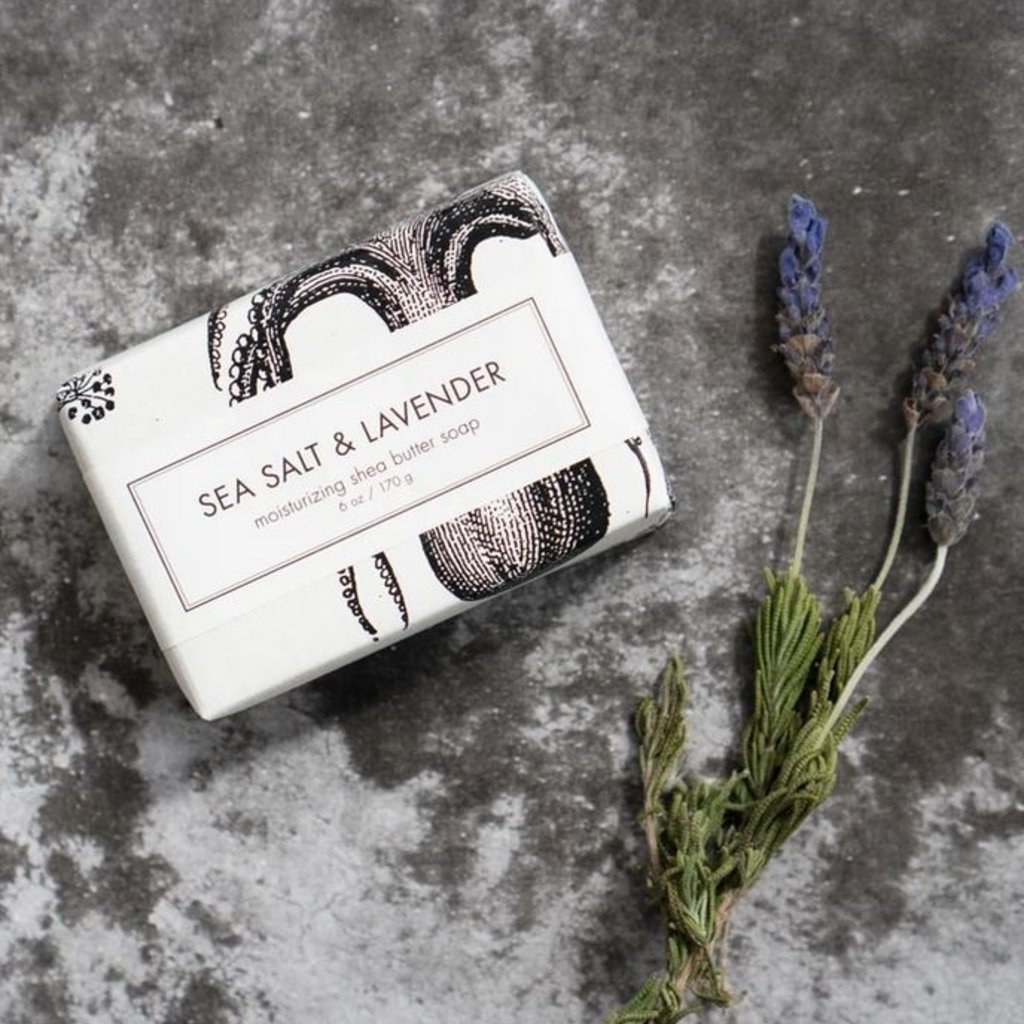 Formulary 55 Sea Salt & Lavender Bath Bar