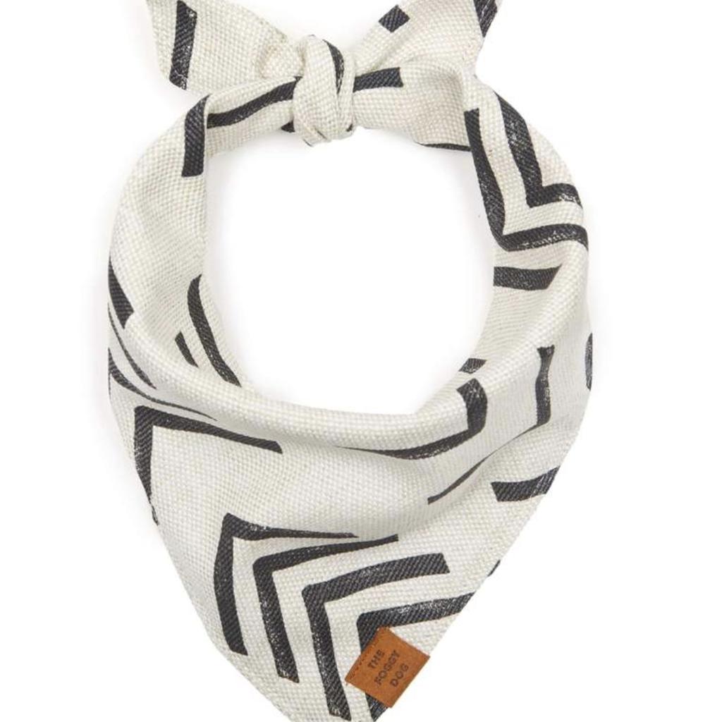 The Foggy Dog Modern Mud Cloth Bandana