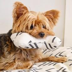 The Foggy Dog Modern Mud Cloth Squeaky Toy