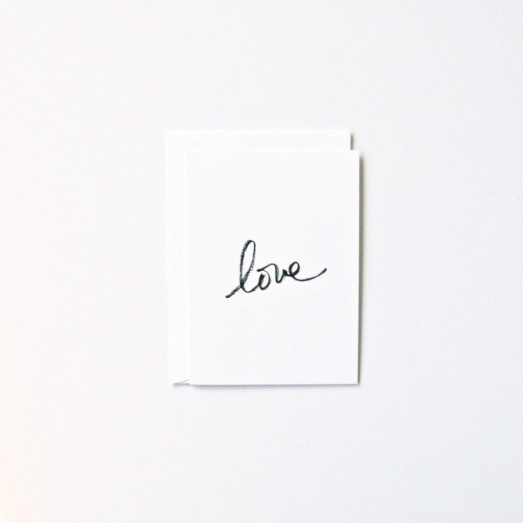 In Haus Press Cursive Love
