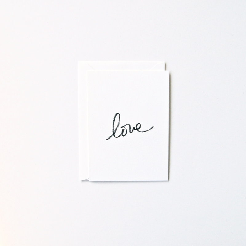 In Haus Press Cursive Love