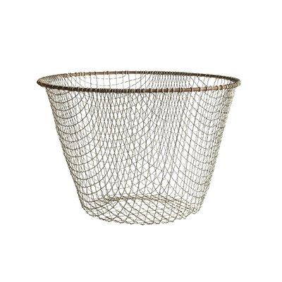 Handmade Tall Wire Basket