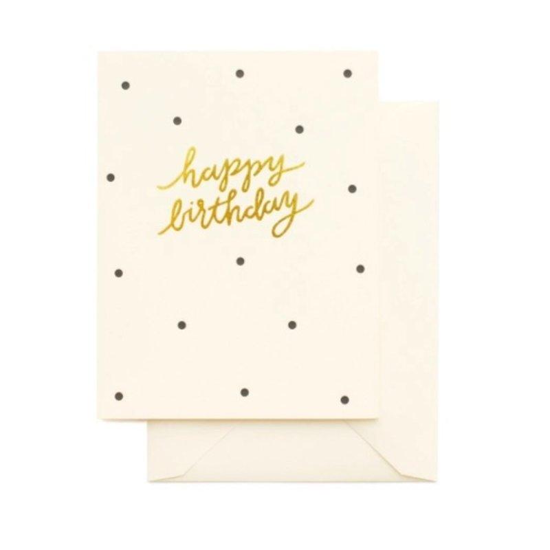 Sugar Paper Dotty Birthday