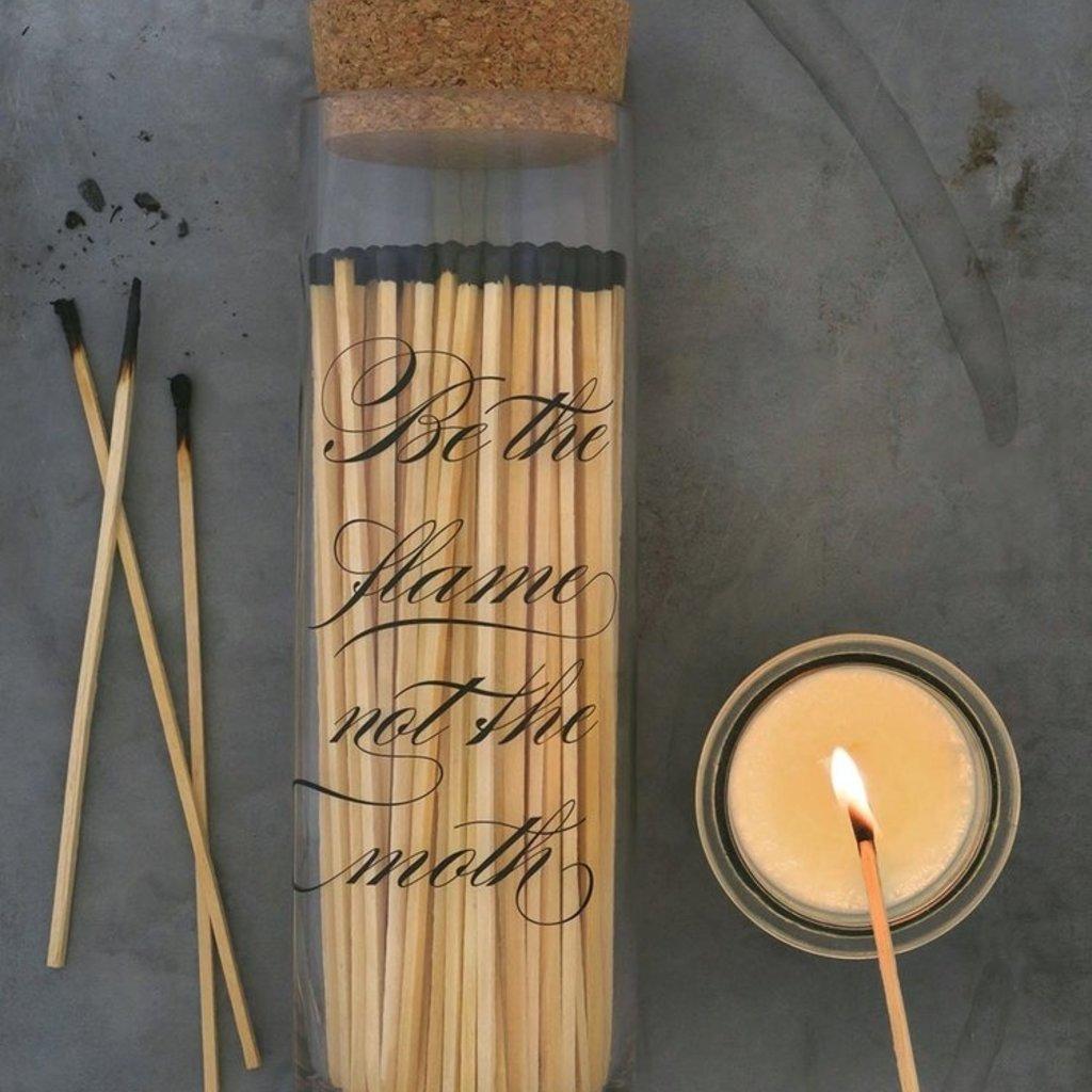 Skeem Calligraphy Fireplace Match Bottle