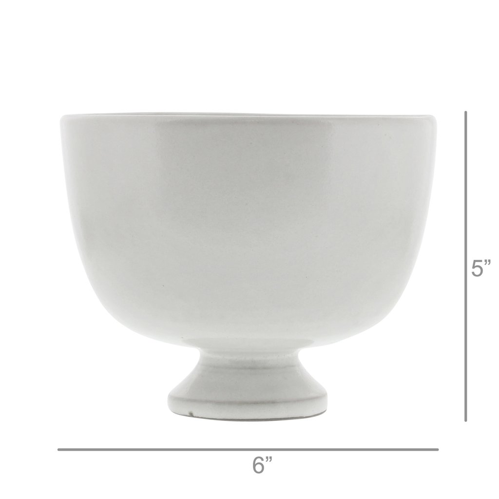 Maya White Glaze Perfect Bowl