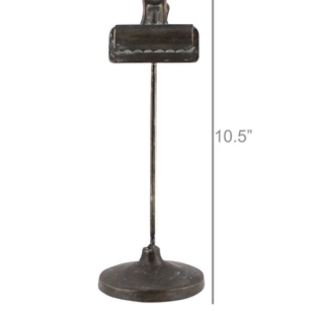 Bookkeepers Clip On Stand