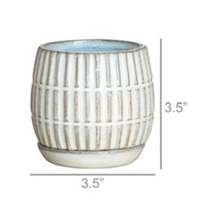 Ramos Linear Cachepot Saucer