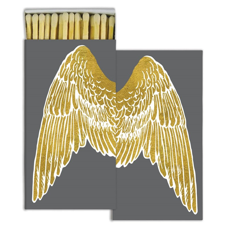 Matches Gold Foil Wings