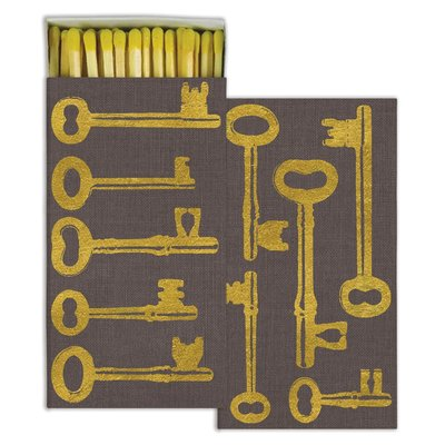 Matches Gold Foil Keys