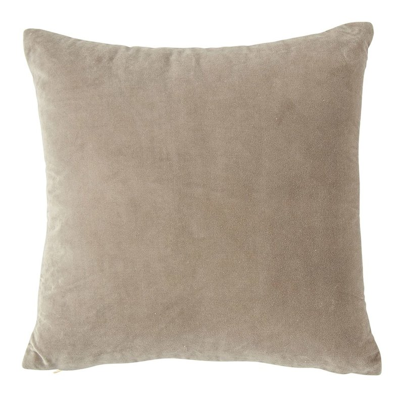 Cotton Velvet Pillow