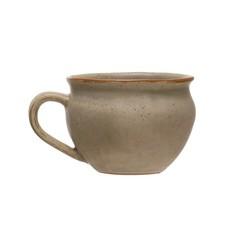Reactive Glaze Stoneware Mug Set of 4